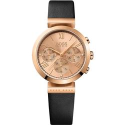 Hugo Boss 1502397 Classic Rose gold colored/Leather Ø34 mm