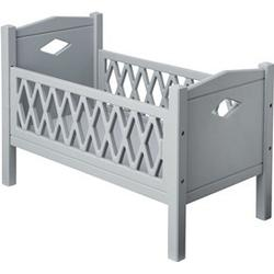 Cam Cam Harlequin Doll's Bed Grey