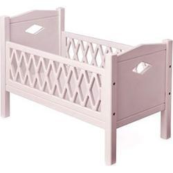 Cam Cam Harlequin Doll's Bed Rose