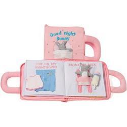 oskar&ellen Good Night Book Pink Swedish