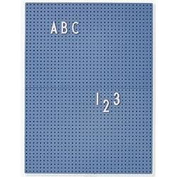 Design Letters Message Board A4 Blue Wall stickers and art