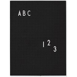 Design Letters Message Board A4 Black Wall stickers and art