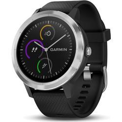 GARMIN vívoactive 3, Smartwatch, 127-204 mm, Schwarz/Silber