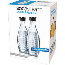 Sodastream Glaskaraffe 1047200490 Glasklar inkl. 2 Glaskaraffen