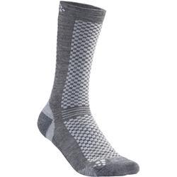 Craft Warm Mid 2-Pack Sock Granite/Plat
