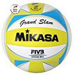 Mikasa Beachvolleyball Grand Slam, gelb / weiß / blau, 1613