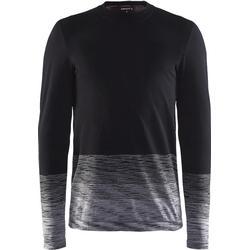 Craft Wool Comfort 2.0 CN LS M Black/Dk Grey Underställ