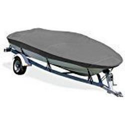 Taylor Made Produkte trailerite Reduktionsgetriebe Boot Bezug für Basic Fischerboot ohne Außenbordmotor Kapuze, Gray Coated Poly