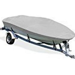Taylor Made Produkte trailerite Reduktionsgetriebe Boot Cover für v/hull Fischerboote mit Innenbordmotor/Außenbordmotor, Gray Poly Cotton