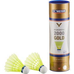 Victor Nylon Badmintonshuttle 2000 - Langsam/Gelb