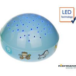 Nachtlicht Wilde Tiere mit LED-Farbwechsler 3 Farben projizieren Sternenhimmel