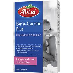 ABTEI Beta-Carotin Plus Hautaktive B-Vitamine Kps. 50 St