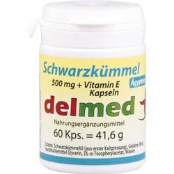 SCHWARZKÜMMEL 500 mg+Vit.E Kapseln 60 St