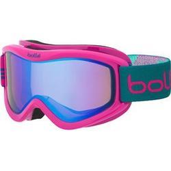 Bollé Volt Pink and Emerald Ski Goggles