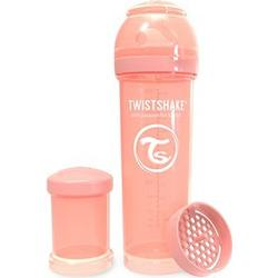 Twistshake Anti-Colic Baby Bottle 330 ml/11 oz Pastel Peach