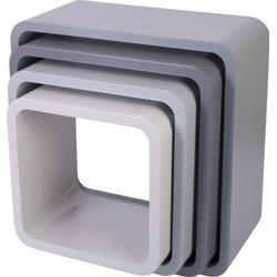 Storage units square 4 pcs Sebra