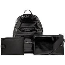 Tiba + Marl Miller Backpack Black Patent