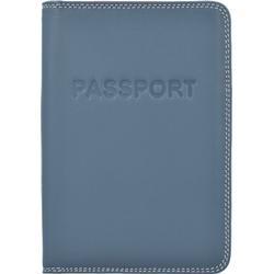 mywalit Passport Cover Passetui Leder 14 cm urban sky