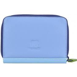 mywalit Zip Around Kreditkartenetui Leder 10 cm lavender
