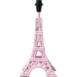 Rice Small Metal Eiffel Tower Table Lamp Soft Pink Table lamps