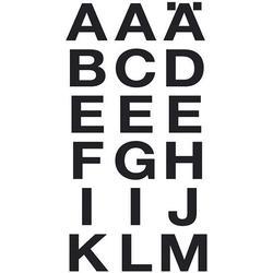 HERMA Buchstabenetikett schwarz