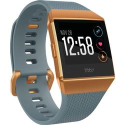 FITBIT Ionic Fitness-Smartwatch Aluminium Elastomer, S/L, Slate Blue/Burnt Orange