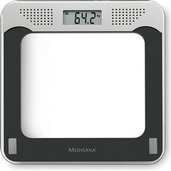 Medisana Digitale Personenwaage PS 425 Wägebereich (max.)=180kg Schwarz, Grau, Glas