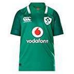 Canterbury Offizielles Irland Rugby 17/18 Vapodri+ Heim Pro Kurzarm Trikot, Bosphorus Grün, 6