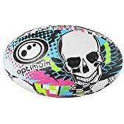 Optimum Skull Rugby Ball, Herren, Skull, Multi/Colour
