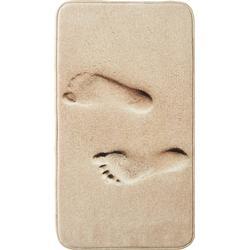 Badematte Feet, Memory Schaum in braun von bonprix