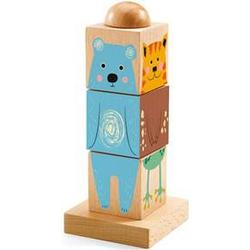 Djeco Twistizz Wooden Block Puzzle