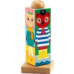 Djeco Twistanimo Wooden Block Puzzle