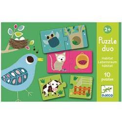 Djeco Habitat Duo Puzzle