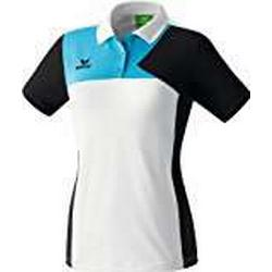 Erima Oberkörper/Bekleidung Premium One Poloshirt Women, Weiß, 36, 111443