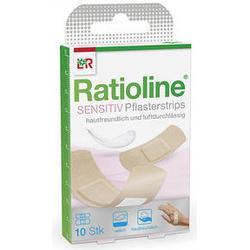 RATIOLINE sensitive Pflasterstrips in 2 Größen 10 St