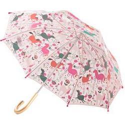 Hatley Roaming Horses Umbrella Pink Long umbrellas
