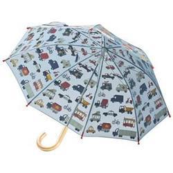 Hatley Rush Hour Umbrella Blue Long umbrellas