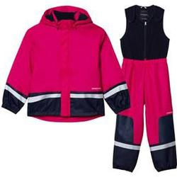 Didriksons Boardman Kids Set Fuchsia 110 cm (4-5 Years)