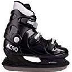 Spokey Unisex acrid/rent geformte Hockey Schlittschuhe, weiß, Größe 40