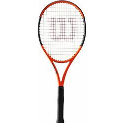 WILSON Tennisschläger Burn 100 Erwachsene grau/orange, Größe: GRIP 3