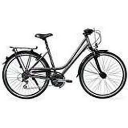 Raleigh Damen Oakland Fahrrad, Carbonitegrey, 55