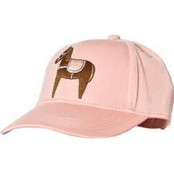 Mini Rodini Horse Embroidery Cap Pink Baseball caps