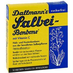 DALLMANN'S Salbei-Bonbons zuckerfrei 20 St