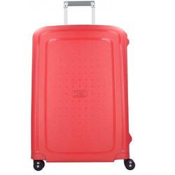 Samsonite S'Cure II Spinner 4-Rollen Trolley 69 cm capri red navy blue
