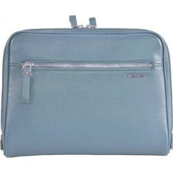Samsonite Highline Tablet Tasche Leder 28 cm dusty blue
