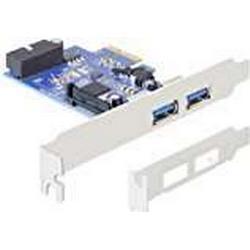 Delock PCI Express Karte (2x extern USB 3.0, 1x intern 19/Pin USB 3.0)