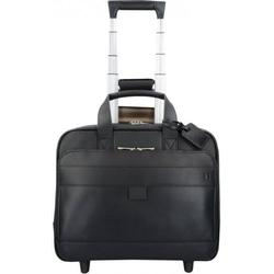 Hartmann Mobile Office 2-Rollen Pilotentrolley Leder 40 cm Laptopfach