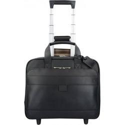 Hartmann Mobile Office 2-Rollen Pilotentrolley Leder 40 cm Laptopfach