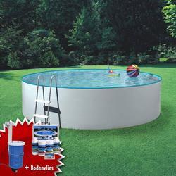 MyPool 3m � rund Stahlwandbecken-Swimmingpool inkl. Kartuschenfilter