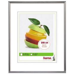 Hama Bilderrahmen Sevilla Kunststoff matt silber 21x29,7cm